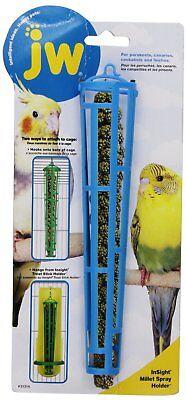 JW Pet Company Insight Miller Spray Holder Treat Stick Plastic Bird Feeders