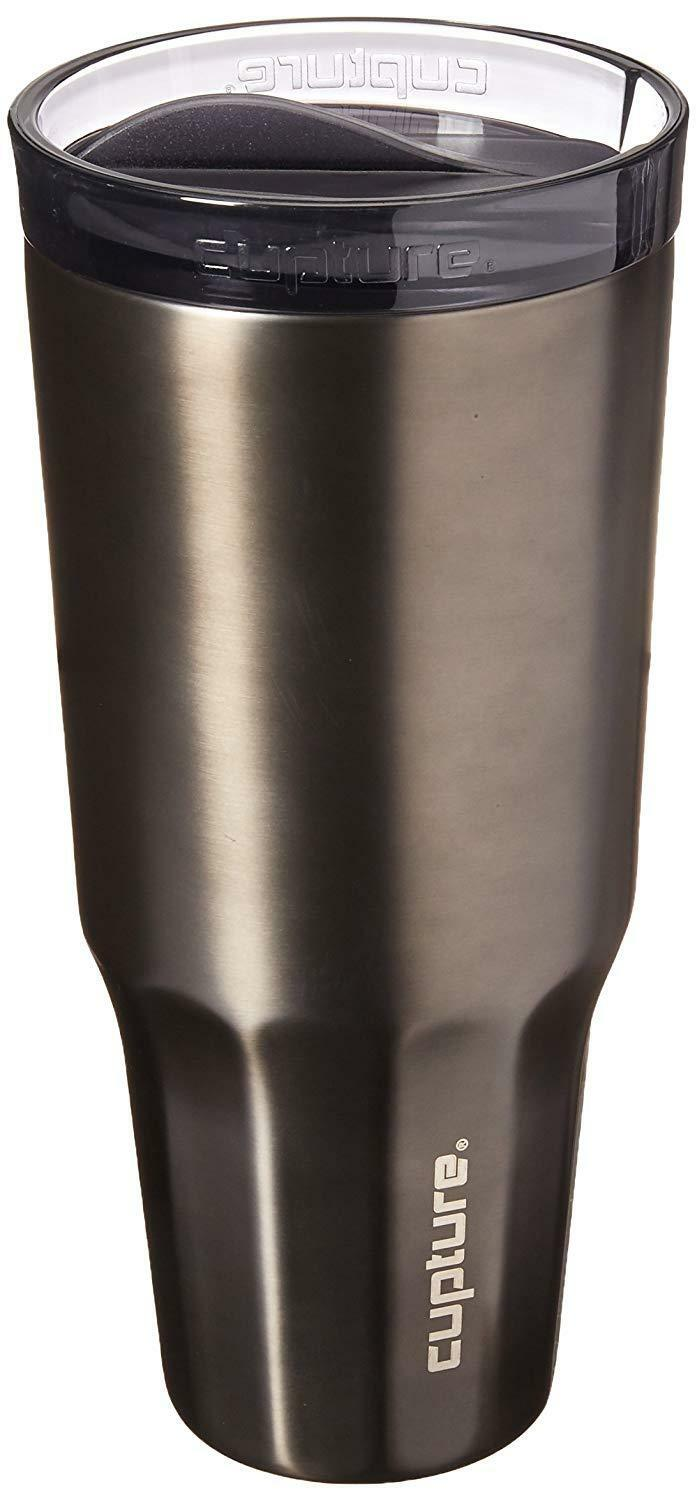 Cupture Travel Tumbler Cup Stainless Steel - 32 oz