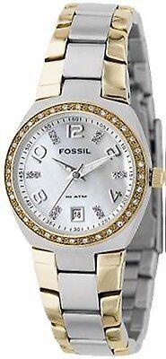 Fossil Women's Serena AM4183 Silver Stainless-Steel Analog Quartz Fashion Watch
