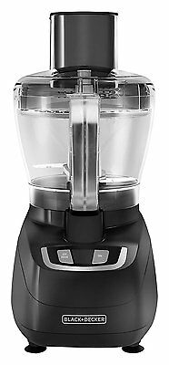 New Black & Decker FP1600B 8-Cup Food Processor, Black - Free Shipping!