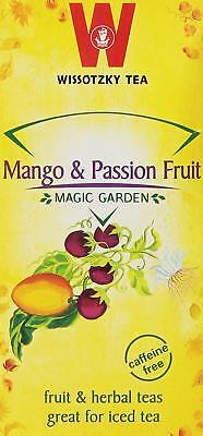 Wissotzky Mango & Passion Fruit Herbal Tea, 20 Tea Bags