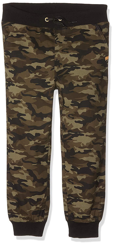 Ben & Lea Camouflage Hose Kinder Jungen Hose Sweathose Baumwolle Jeans mit Bund