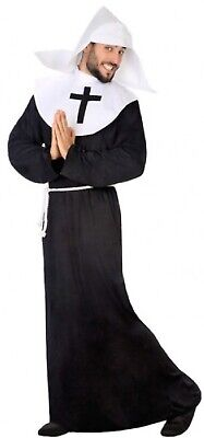 Mens Naughty Nun Funny Religious Stag Do Comedy Fancy Dress Costume Outfit
