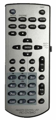 New Kenwood Replaced Remote Rc-dv340 For Ddx4048bt Ddx3049 Ddx4070bt Ddx5140