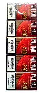 Pall Mall Red 170St/Stg(0,129€=1St) Filter Cigarillos