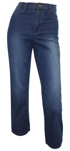 ARIZONA 3/4 Jeans Gr. 40 dark blue used High Waist Stiefeljeans Capri neu