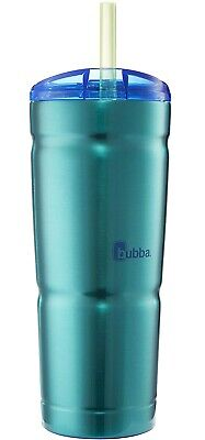 bubba Envy S Vacuum- Stainless Steel Tumbler with Straw, 24 oz, Island Teal