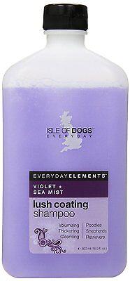 Isle of Dogs Violet & Sea Mist Lush Coating Shampoo For Dogs 16.9 oz. 500ml