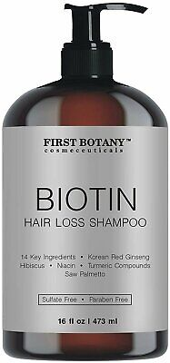 Hair Regrowth and Anti Hair Loss Shampoo 16 fl oz, with 14 DHT blockers-...