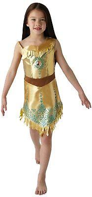 Mädchen Disney Prinzessin Pocahontas Welttag des Buches Kostüm Kleid Outfit