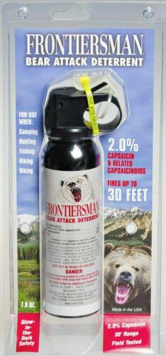 Frontiersman 30ft Bear Attack Deterrent Spray 7.9 OZ. - FBAD-03