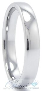 Tungsten Carbide Plain Wedding Band Men & Women Ring