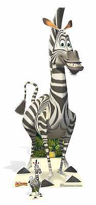 Marty Zebra von Madagaskar Lebensechte Größe und Mini - Zebra Madagaskar