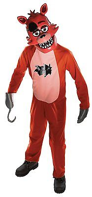 Rubies Five Nights At Freddy's Foxy Game Child Boys Halloween Costume 630099 - Five Nights At Freddy's Halloween Game