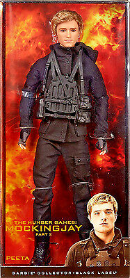 Barbie Collector The Hunger Games: Mockingjay Part 2 Peeta Doll