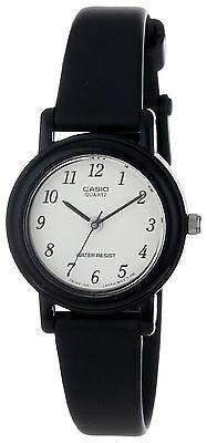 Casio Women's Black Resin Watch, Analog, Water Resistant, LQ139B-1B