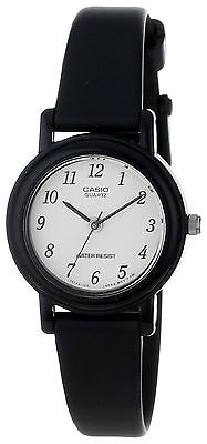 Casio LQ139B-1B,  Women's Black Resin Watch, Analog, Water R