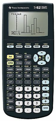 Texas Instruments Graphic Scientific Calculator Statistics TI-82 STATS New