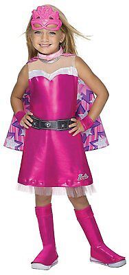 Super Sparkle Barbie Princess Power Fancy Dress Halloween Deluxe Child (Deluxe Barbie Kostüm)