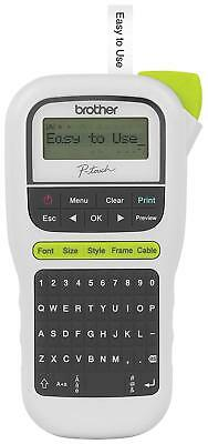Brother P-touch Pth110 Easy Portable Label Maker Lightweight Qwerty