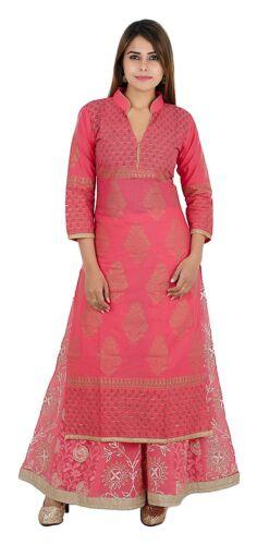 Indian Pakistani Women Kurta Kurti Designer Bollywood Tunic Tops (Kurta only) S