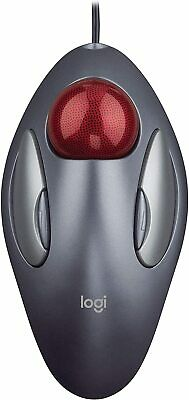 Logitech Ambidextrous Trackman Marble Trackball Mouse