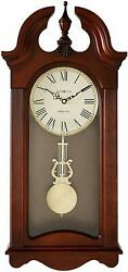 Howard Miller Malia Wall Clock 625-466 – Cherry, Quartz & Single Chime Movement