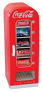 Coca Cola CVF18 Retro Vending Fridge 10 Can BRAND NEW**