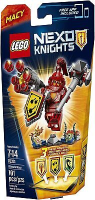 LEGO 70331 Nexo Knights Ultimate Macy Red Shield 3 Powers NEW SEALED NISB