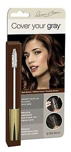 Cover Your Gray Brush In Dark Brown, 0.25 oz