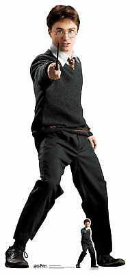 Harry Potter Hogwarts Schuluniform Lebensechte Größe Pappfigur Daniel Radcliffe ()