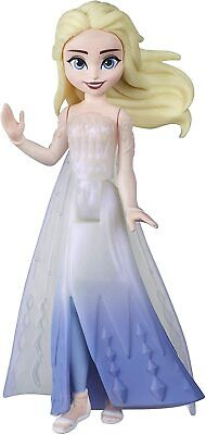 Disney Frozen 2 Queen Elsa Small Doll with Removable Cape Gift Kids Toy