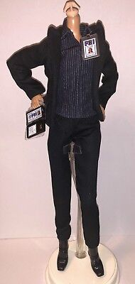 Barbie 25th Anniversary X-Files Agent Dana Scully Doll Outfit Suit & Shoes NEW](Doll Suit)