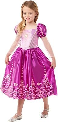 zessin Rapunzel Tangled Buch Tag Woche Verkleidung Kleid (Tangled Prinzessin Kleid)