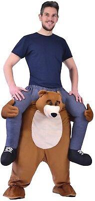 Erwachsene darauf Reiten Schritt Bär Tier Karneval Stag Kostüm Kleid - Kostüm Reiten Tiere