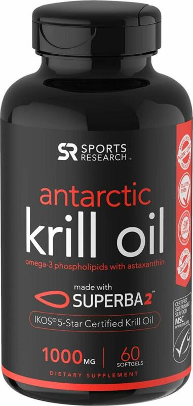 Antarctic Krill Oil  with Omega-3s EPA, DHA and Astaxanthin