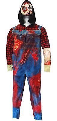 Suit Onesie Mens (I Am A Zombie Mens Union Suit)