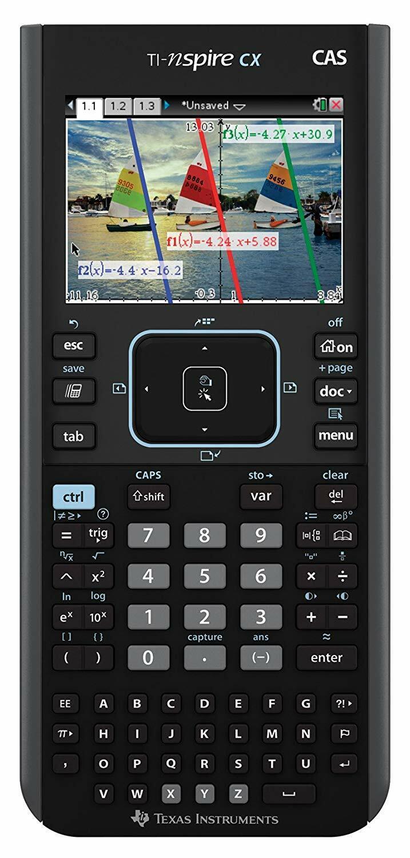 Texas Instruments N3CAS/CLM/2L1 TI-Nspire CX CAS Graphing Calculators