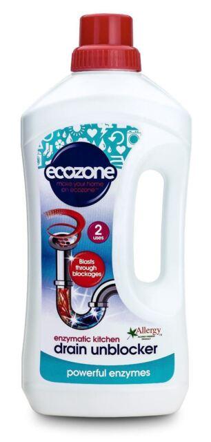 Ecozone Enzymatic Drain Unblocker Liquid 1ltr
