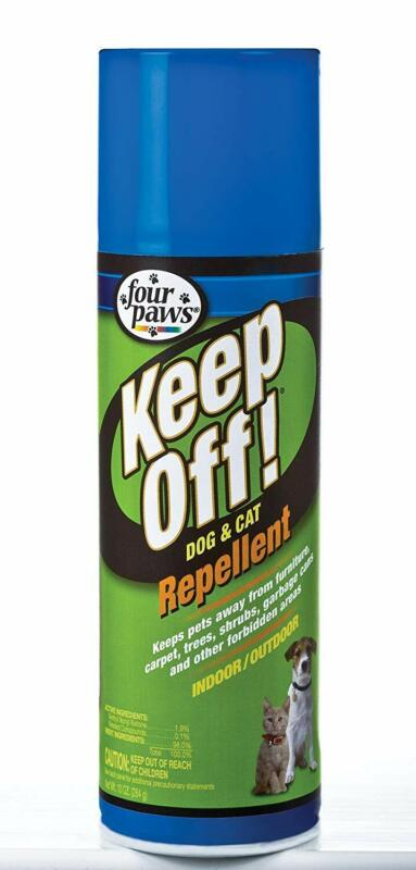 Four Paws Keep Off Indoor and Outdoor Dog and Cat Repellent