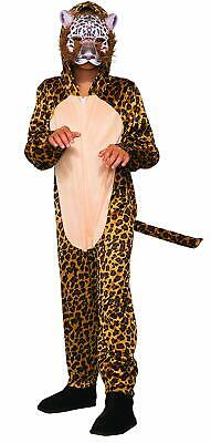 Leopard Wild Cat Cheetah Safari Animal Fancy Dress Up Halloween Child Costume (Cheetah Costumes For Boys)