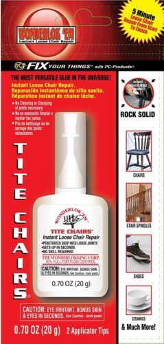 Wonderlockking Tite Chairs Instant Loose Chair Joint & Furniture Repair Adhesiv
