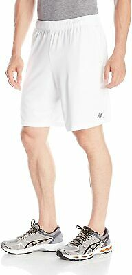 "New Balance Men's Versa Shorts 9"" Knit - WHITE - Pockets -  MS53072  WT  NWT!!"