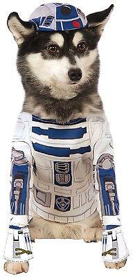Haustier Hund Katze Offiziell Star Wars R2D2 halloween kostüm outfit verkleidung