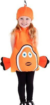 Baby Toddler Boys Girls Clown Fish Animal TV Film Fancy Dress Costume Outfit - Baby Clown Fish Kostüm