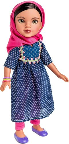 Hearts For Hearts Girls Shola from Afghanistan, 14-inch Doll