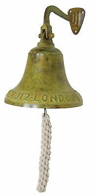 Titanic Ship Bell Wall Mount Vintage Style Nautical Boat Decor Antique Look