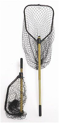 (New Norsemen StowMaster Tournament Series Kayak Net with telescoping handle)