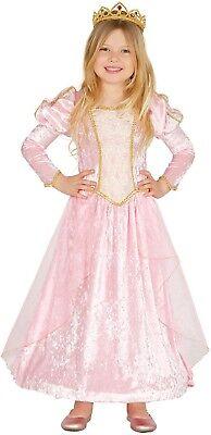 Mädchen Rosa Velvet Prinzessin Märchen Mario Kostüm Kleid Outfit 3-9 - Mario Mädchen Kleid Kostüm