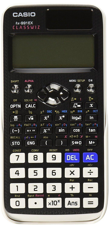Casio FX-991EX Engineering/Scientific Calculator, Black